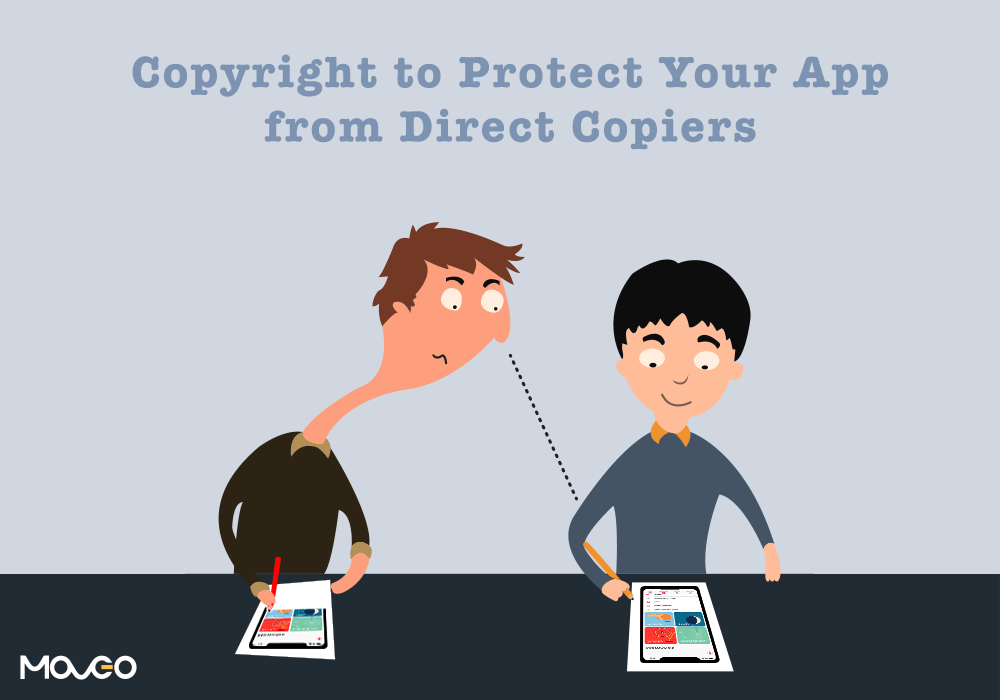 copyright your mobile app