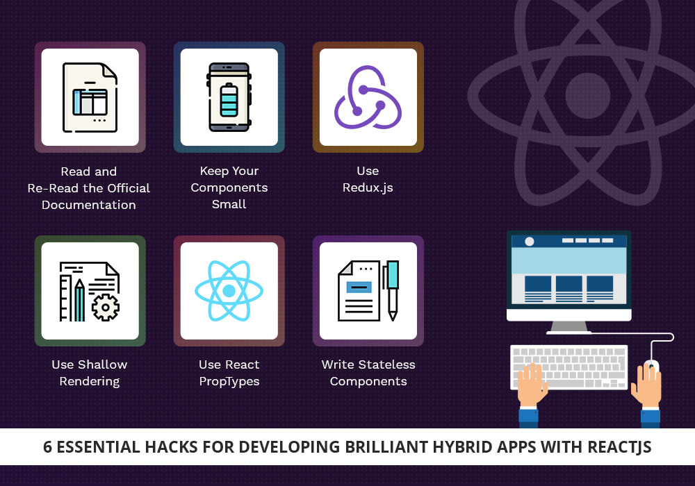 6 Essential Hacks for Developing Brilliant Hybrid Apps with ReactJS