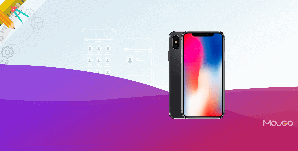 9 tips and tricks for designing apps for the new iphone x for Designing an app for iphone