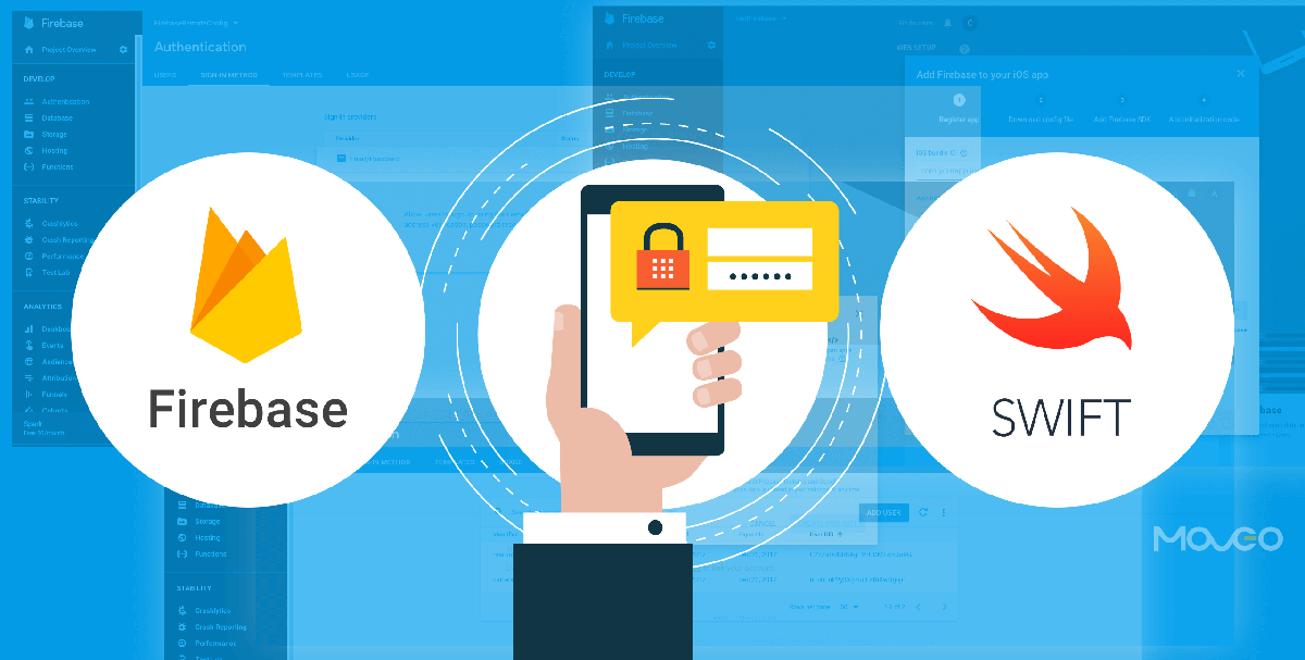 How to Code for Firebase Authentication in Swift