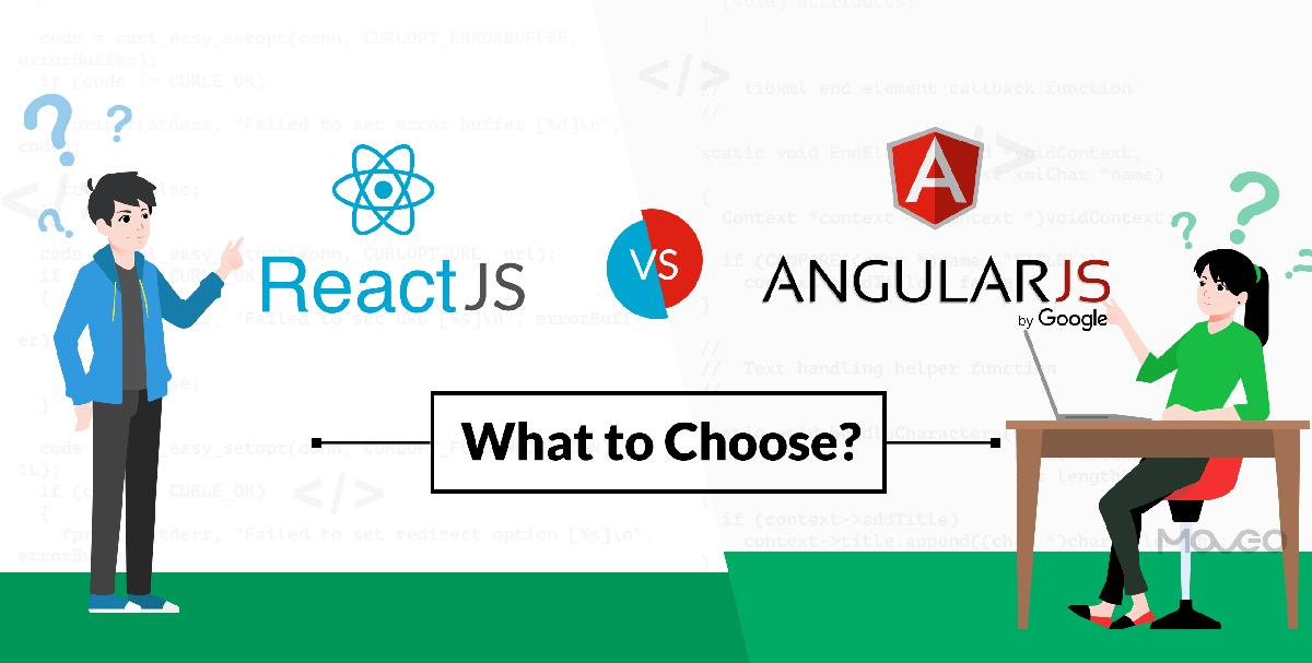 ReactJS vs AngularJS – Choose The Best Framework For Your