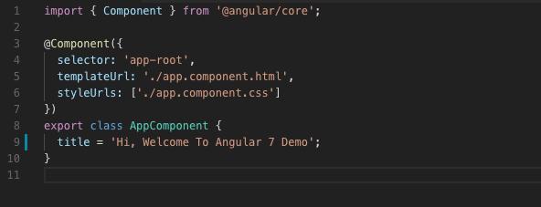 install angular 7 locally