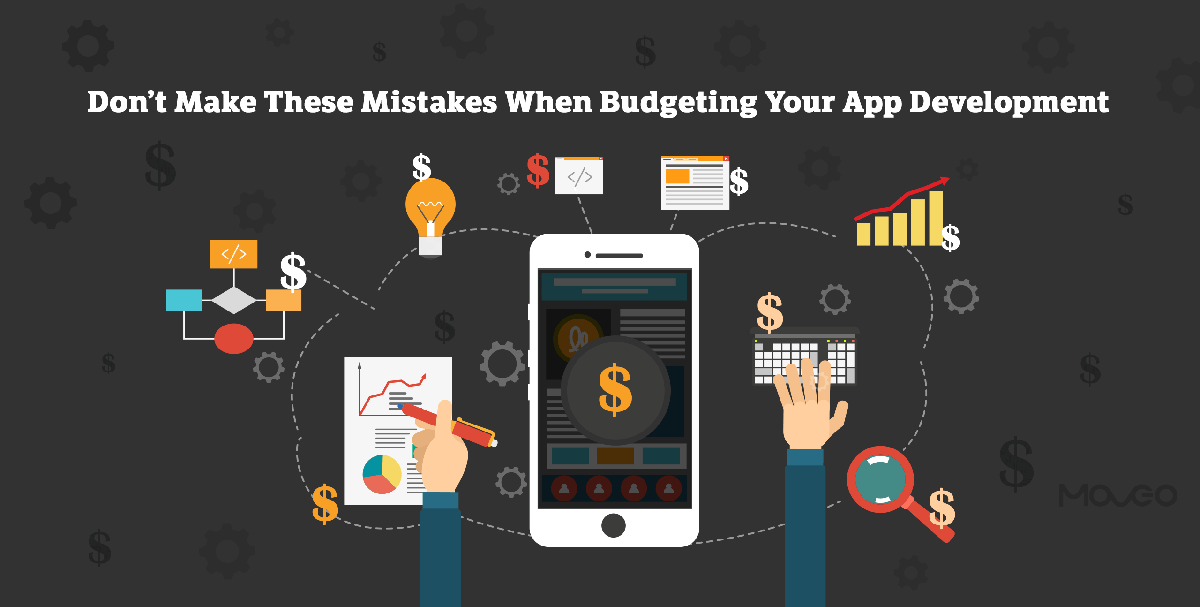don't make these mistakes when budgeting your app development