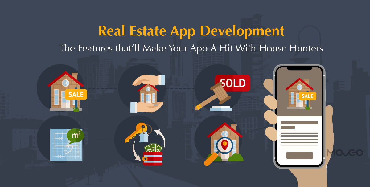 real estate app development – the features that'll make your app a hit with house hunters