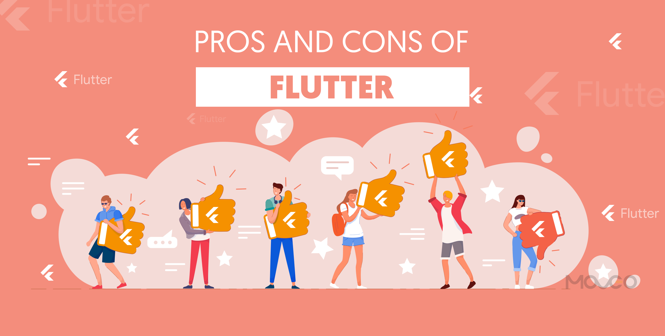 pros and cons of flutter