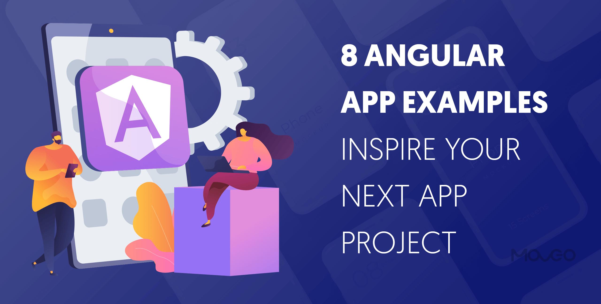 best angular app examples