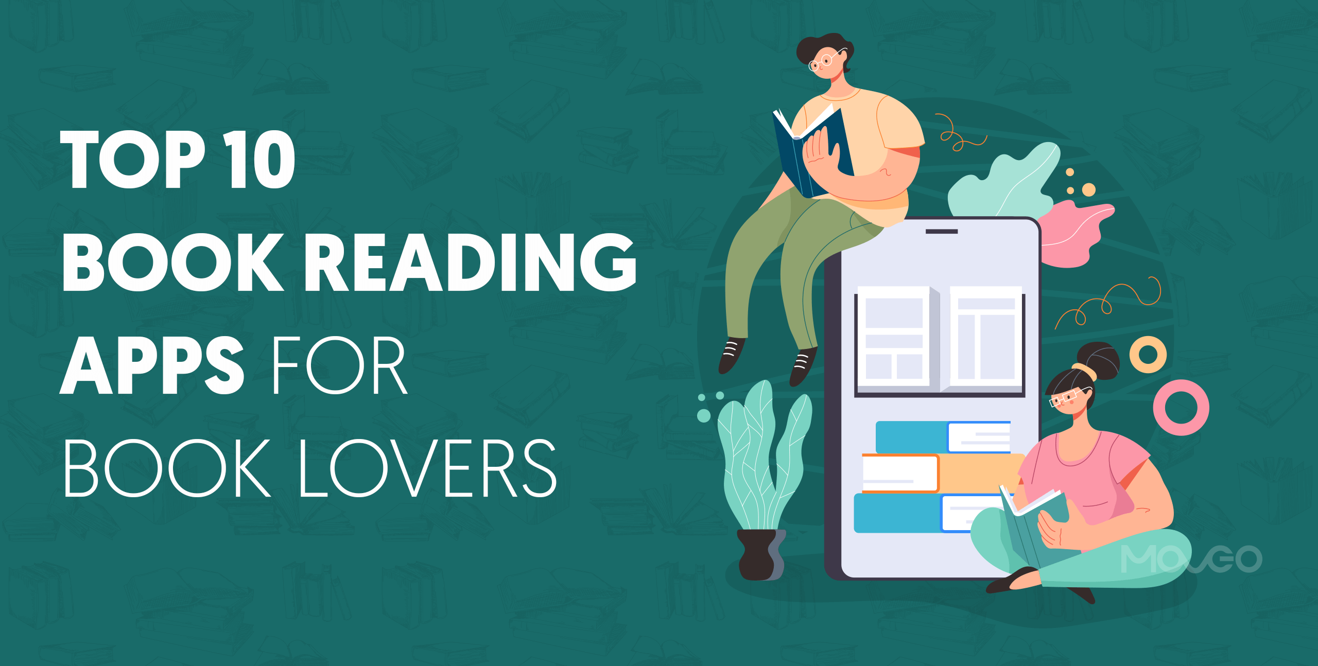 top 10 book reading apps