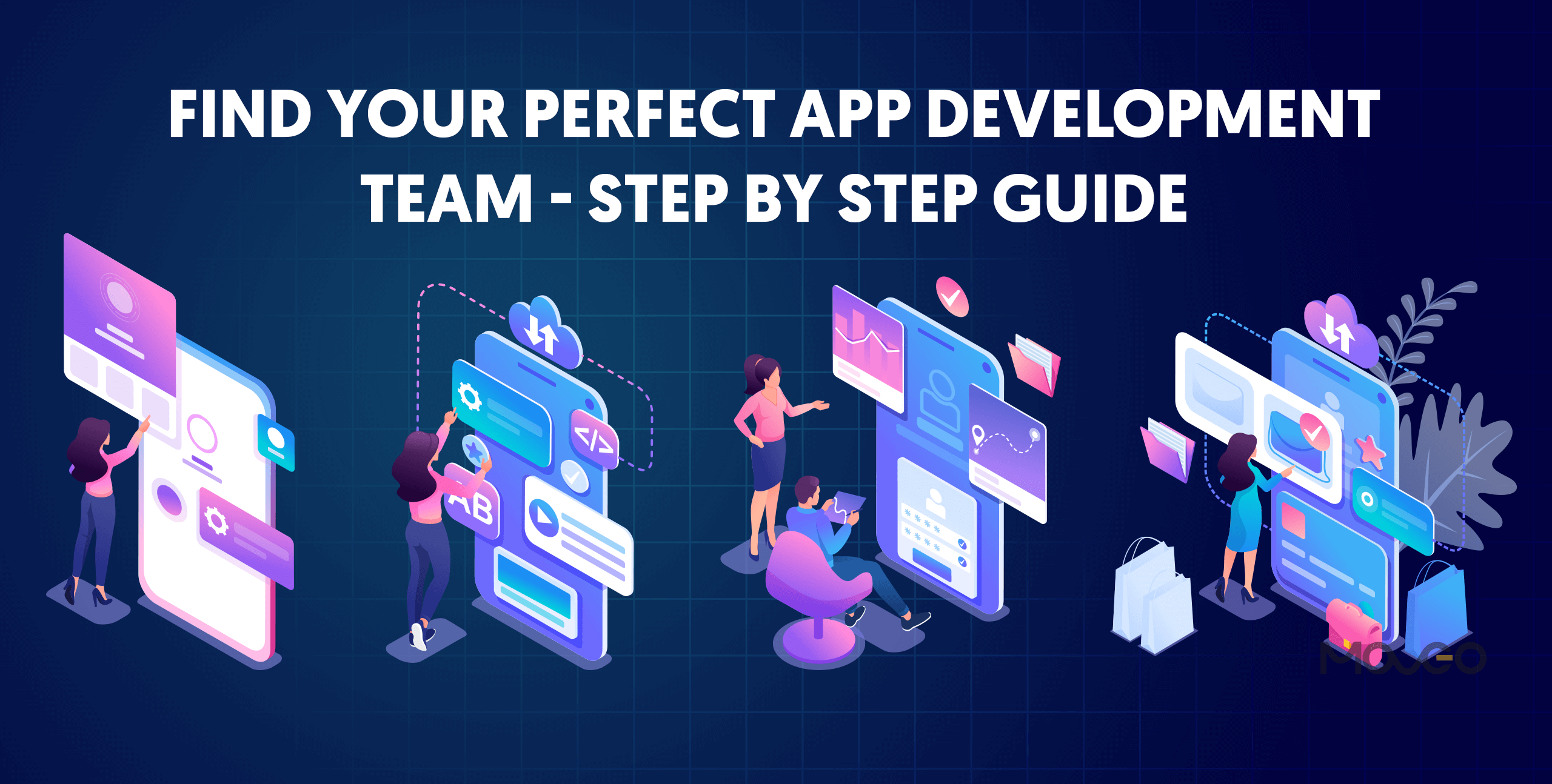 Find your perfect app development team – Step by step guide