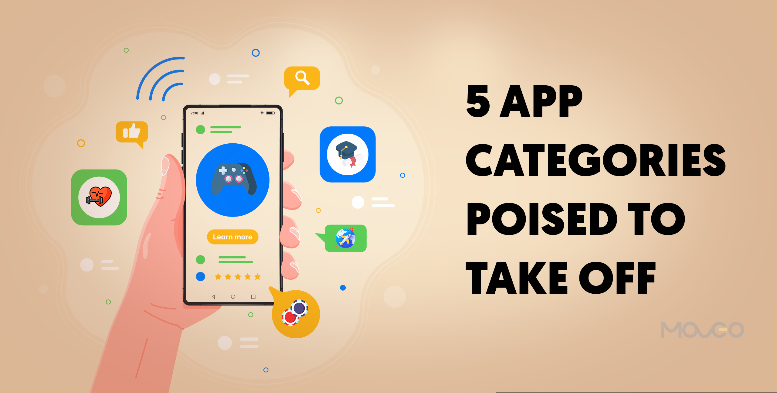 5 app categories poised to take off